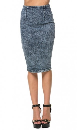 2015 denim skirt