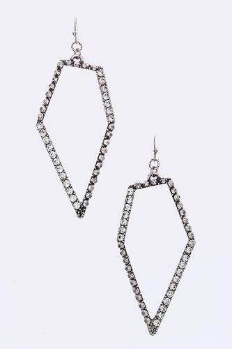 2015 geometrical drop earrings