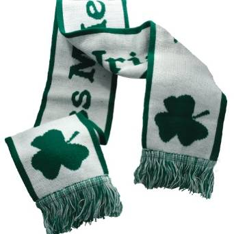 st patricks day scarves 2015-2016