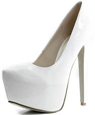 white pumps