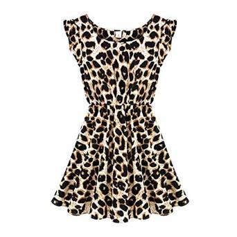 2015 animal print dress