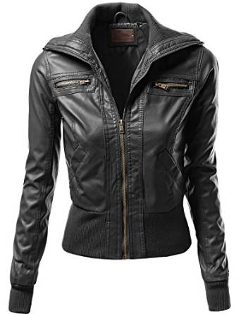 best leather jackets for women 2015-2016