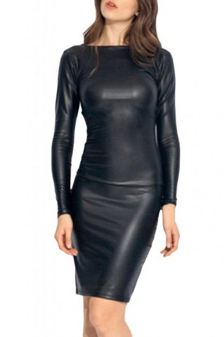 bets leather dresses 2015-2016