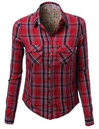 plaid shirt 2015-2016