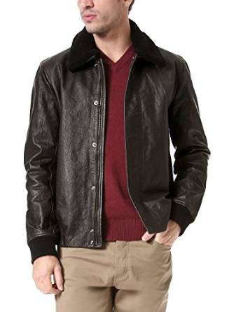2015-2016 mens shearling jacket