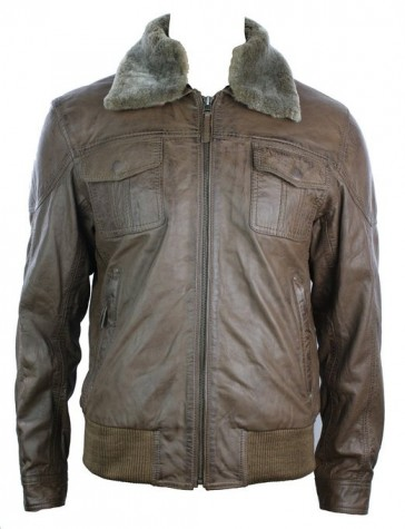 aviator leather jacket 2015-2016