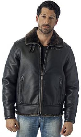 shearling jacket for men