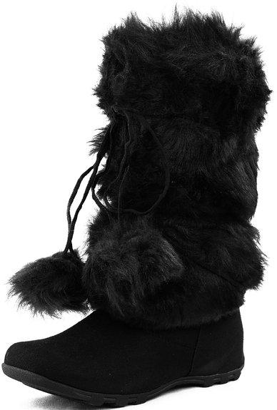 womens fur boots 2015-2016