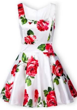best floral dress 2016-2017