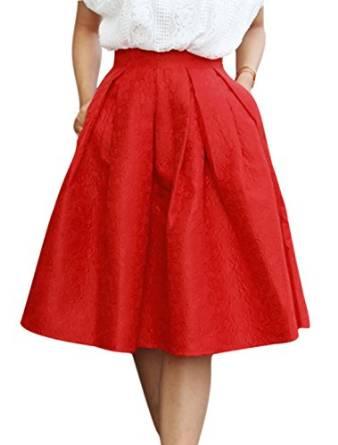 red skirt 2015-2016