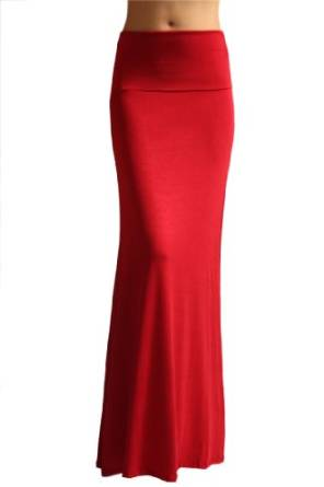 tips to wear red skirt