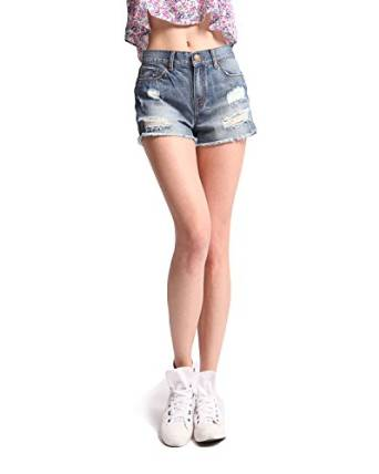 2016 denim shorts