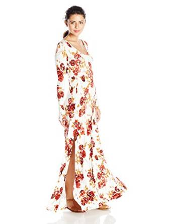 2019 floral print dress