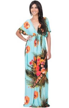 2019 best floral print maxi dress
