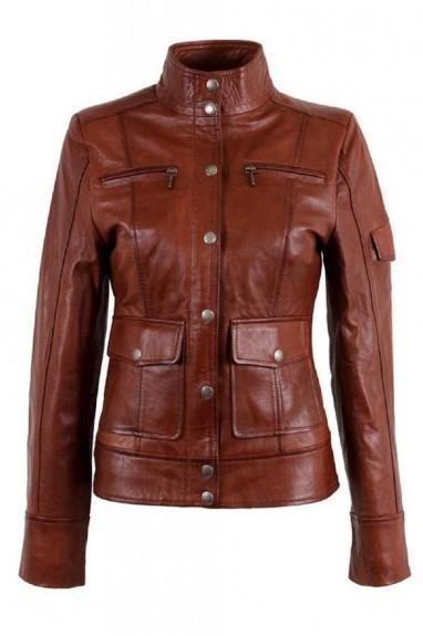 2018 ladies brown jackets