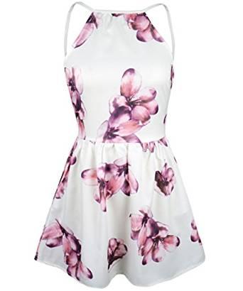 2018 floral dress