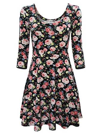 good looking floral dress 2017-2018