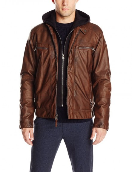 2018 mens leather jacket