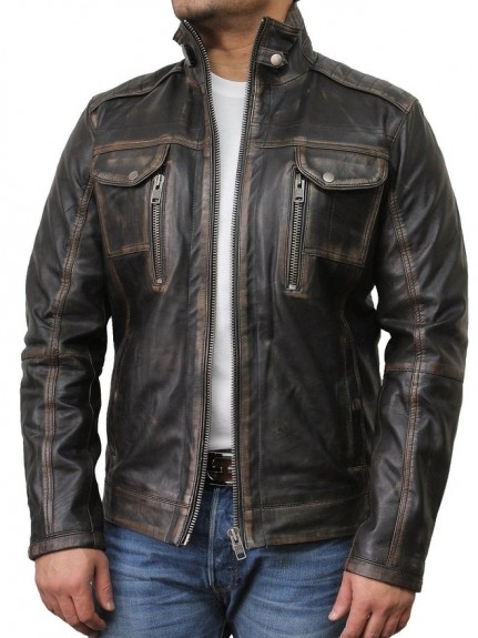 best gents leather jacket 2018