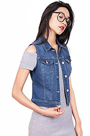 amazing denim vest 2018