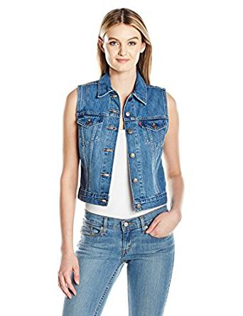 best womens denim vest 2018