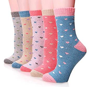fashion printed winter socks