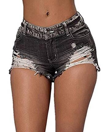 womens denim shorts 2018