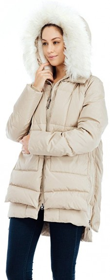 winter coat for pregnant ladies 2017