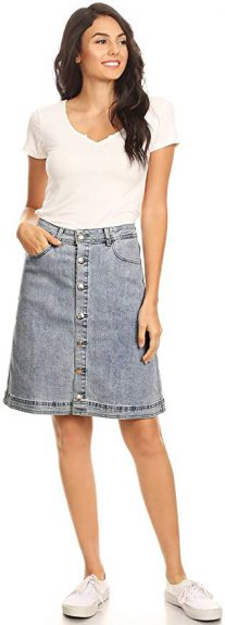 Are Denim Skirts In Style 2020?