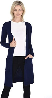 Are long cardigans in style 2021?