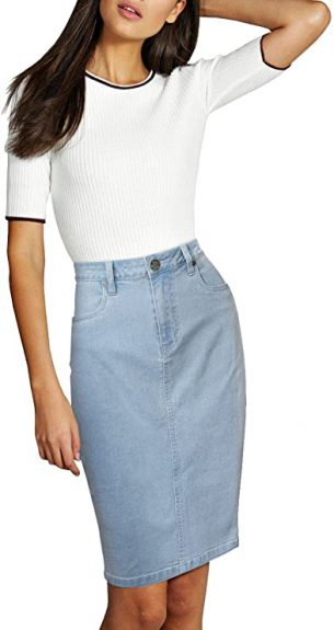 are jean skirts in style 2021