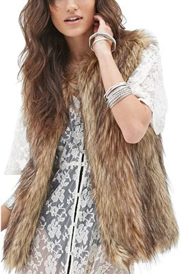 Outfits with fur vest