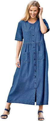 Are jean dresses in style 2021?